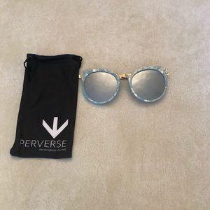Light Blue Perverse Sunglasses